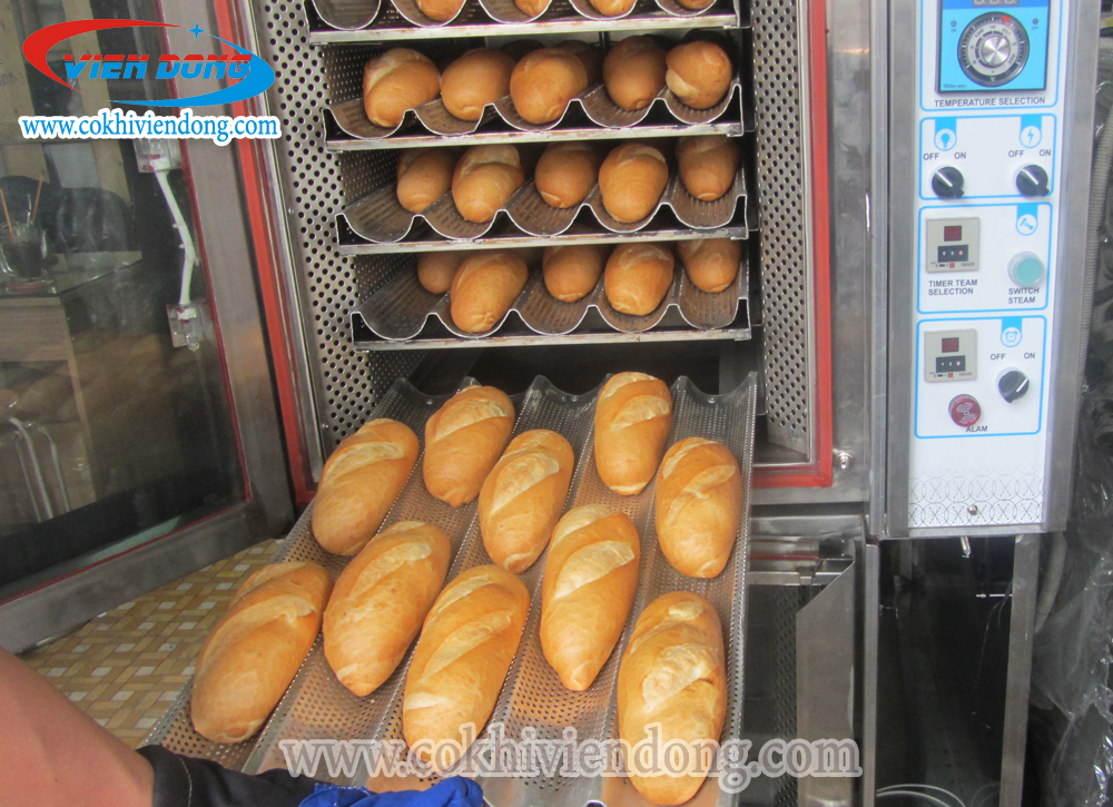 Lò nướng bánh mì đối lưu Việt Nam