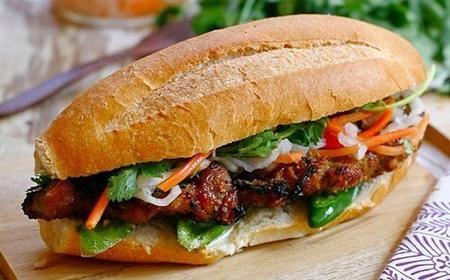 bánh mì thịt heo nướng