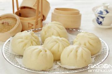 Làm món bánh bao không nhân từ nguyên liệu đơn giản