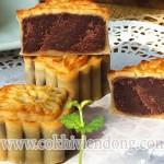 Cách làm bánh trung thu nhân đậu đỏ (1)