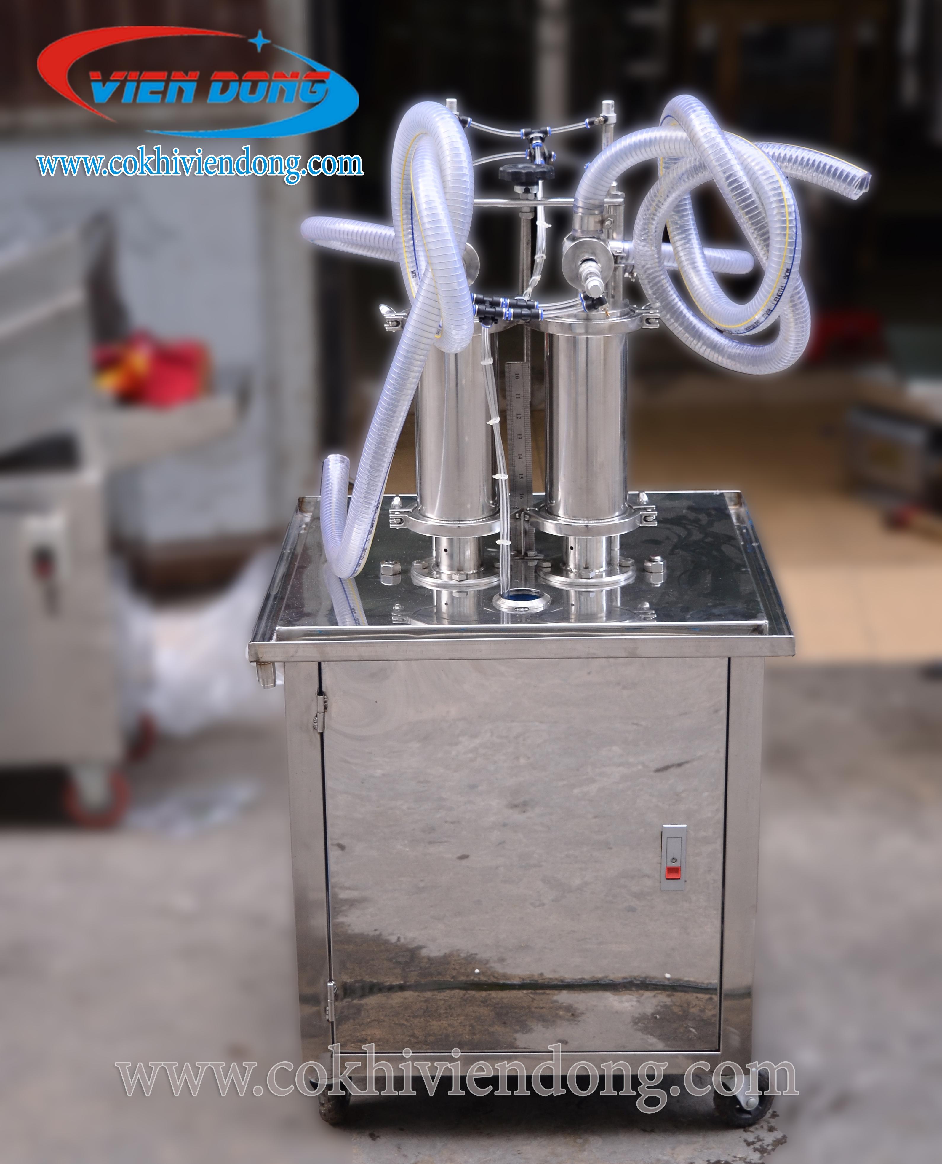 Máy chiết rót định lượng bằng khí nén