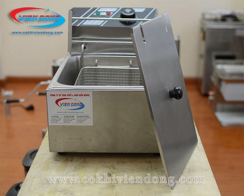 Bếp chiên đơn dùng điện - An toàn và tiết kiệm