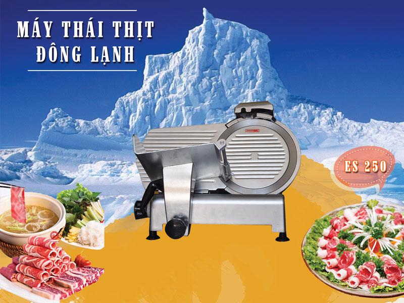 Máy thái thịt chín, thịt đông se lạnh- thái thịt siêu mỏngMáy thái thịt chín, thịt đông se lạnh- thái thịt siêu mỏng