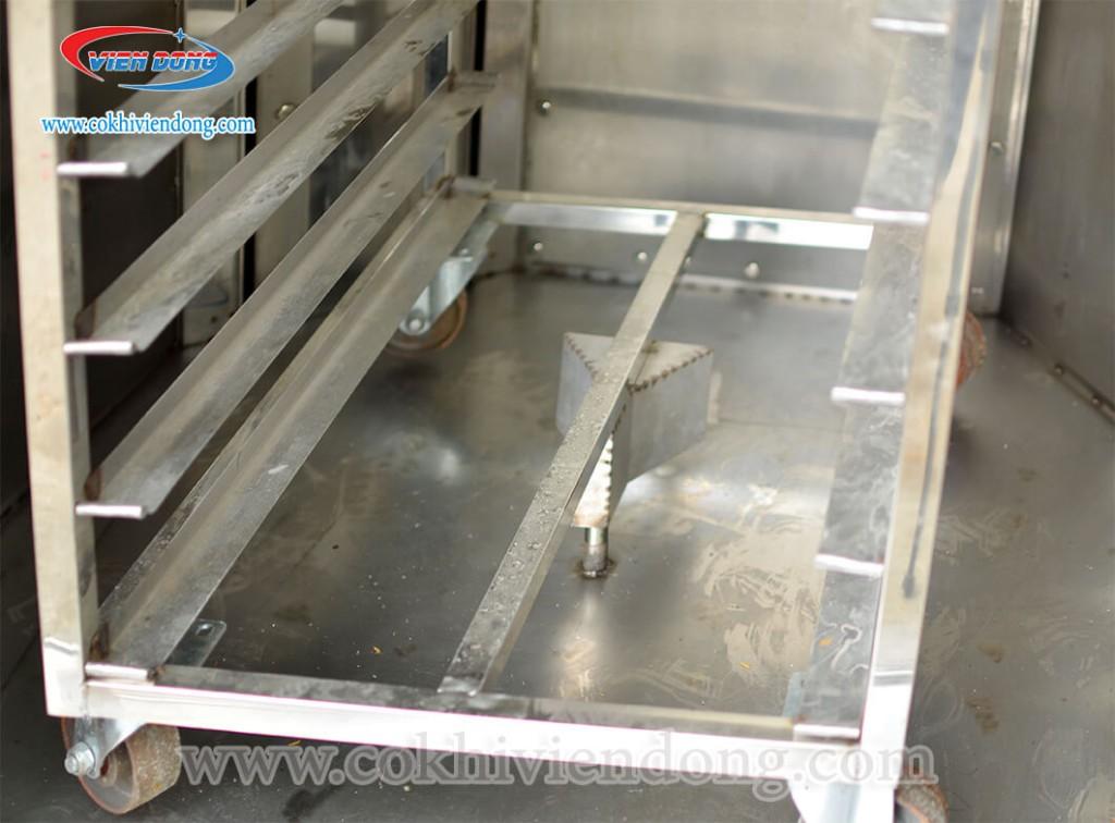 Đặc điểm cấu tạo của lò nướng bánh mì xoay 6 khay