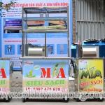 Mua máy ép nước mía siêu sạch giá rẻ chất lượng ở đâu?