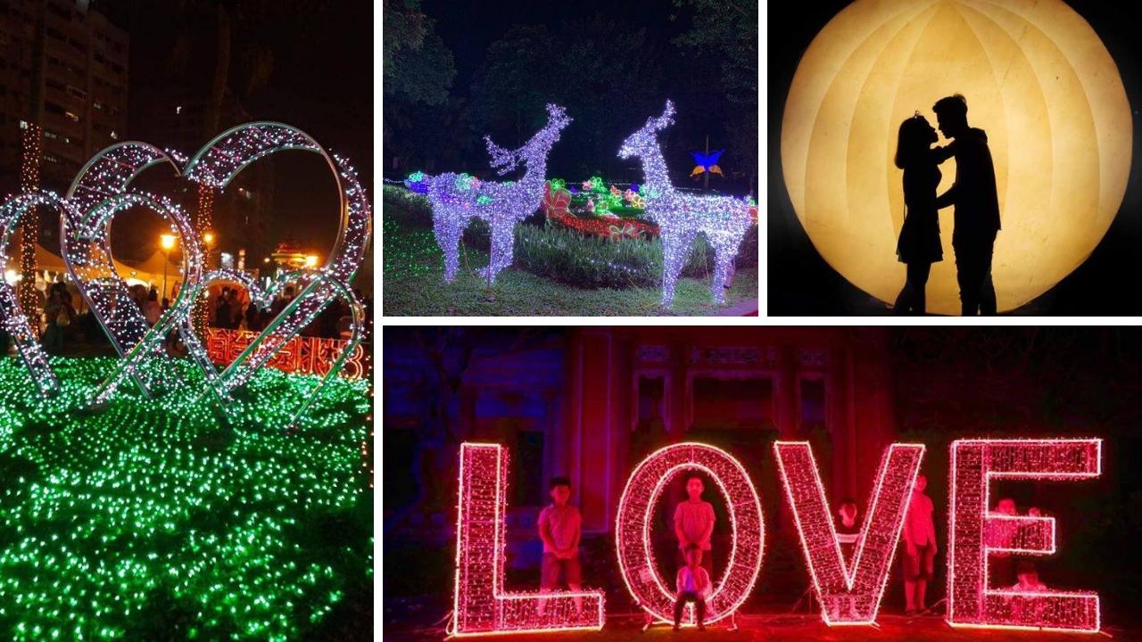 Lễ hội ánh sáng ở Sầm Sơn