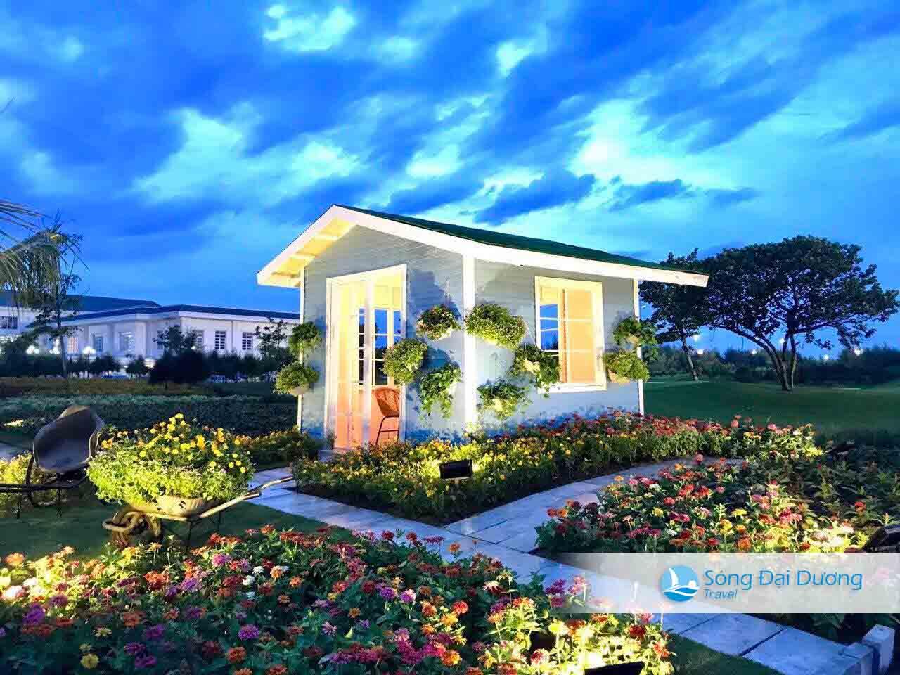 Nhà hoa trong FLC Sầm Sơn