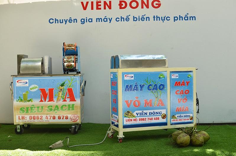 Hướng dẫn vệ sinh máy cạo vỏ mía Viễn Đông