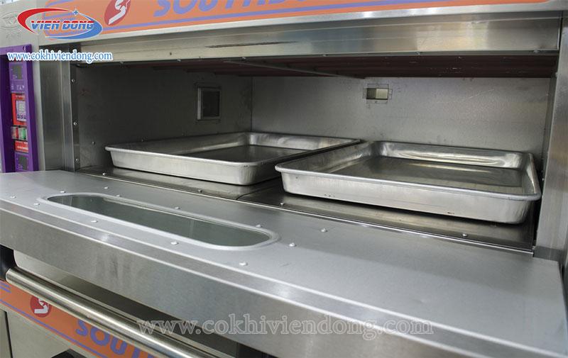 lò nướng bánh trung thu 1 tầng 2 khay