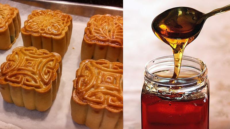 nước đường làm bánh nướng