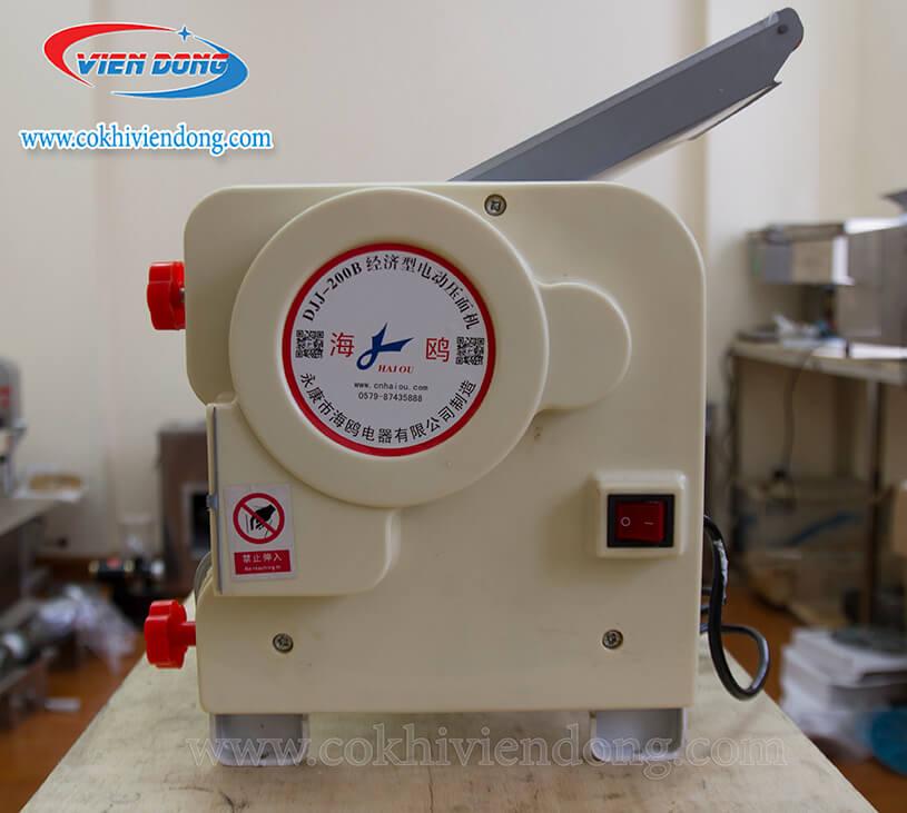 Máy cán bột mì mini DJJ - 200B