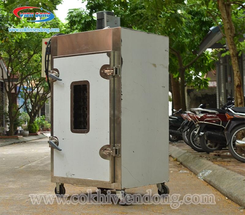 Máy sấy thịt bò khô xoay 12 khay Việt Nam