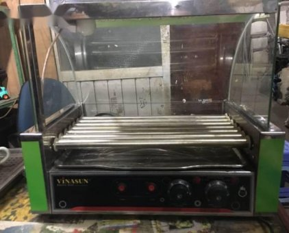 máy nướng xúc xích thanh lý