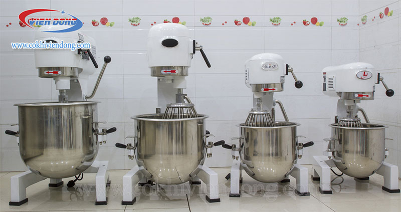Các loại máy trộn bột đánh trứng công nghiệp