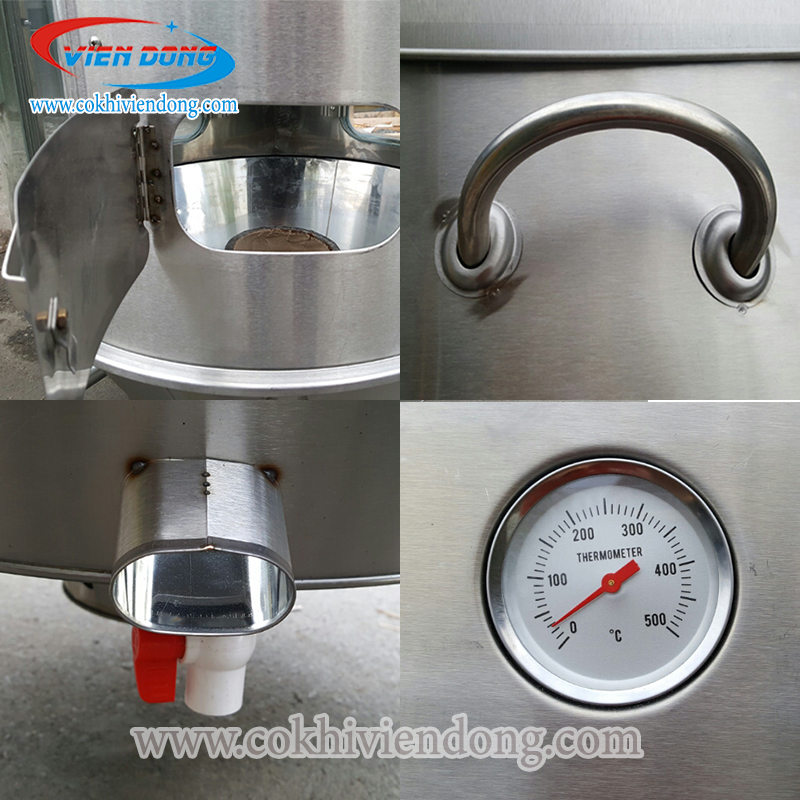 Đồng hồ đo nhiệt lò nướng vịt dùng than