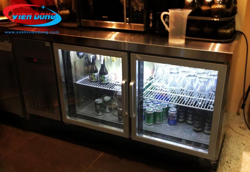 Bàn lạnh quầy bar- sự lựa chọn thông minh giúp bảo quản đồ uống