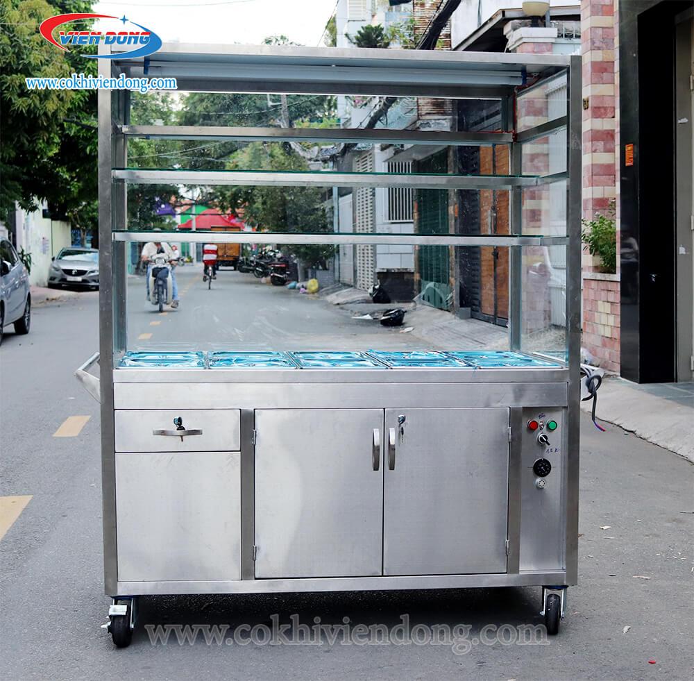 thanh lý tủ giữ nóng thức ăn