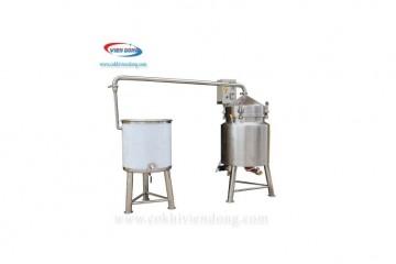 Nồi nấu rượu công nghiệp 10kg/mẻ cho xưởng rượu nhỏ giá tốt