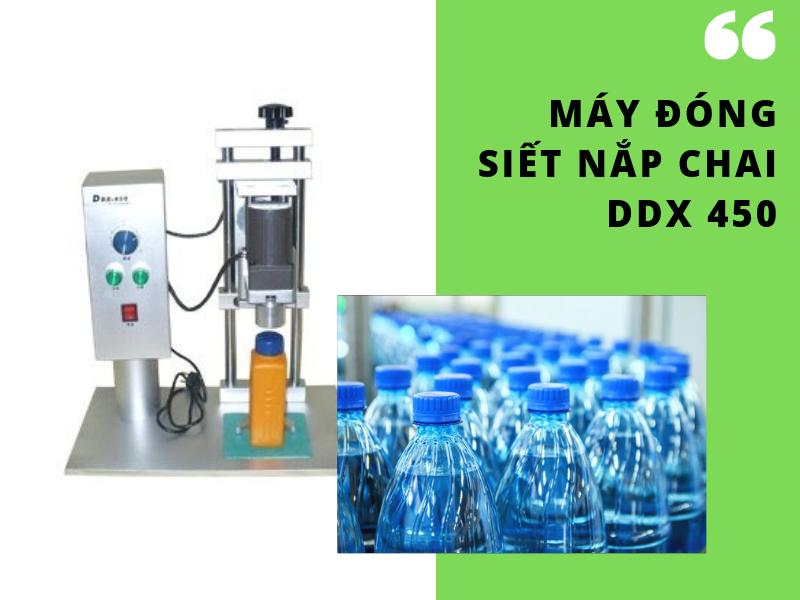 Máy đóng siết nắp chai DDX 450