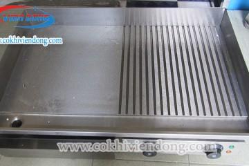 Cấu tạo bếp chiên phẳng dễ dàng sử dụng, tháo lắp vệ sinh