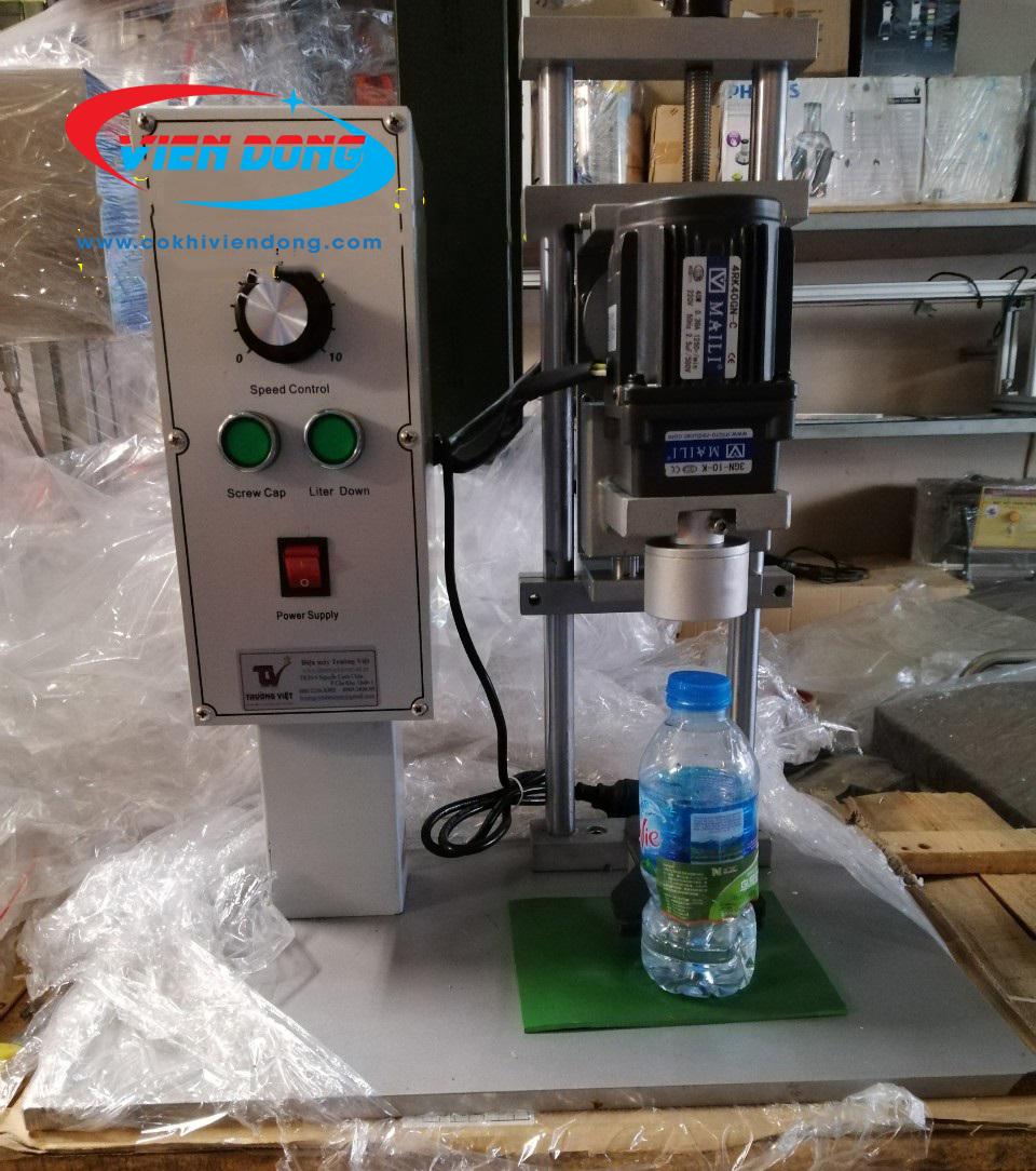 bảo quản máy đóng nắp chai DDX 450