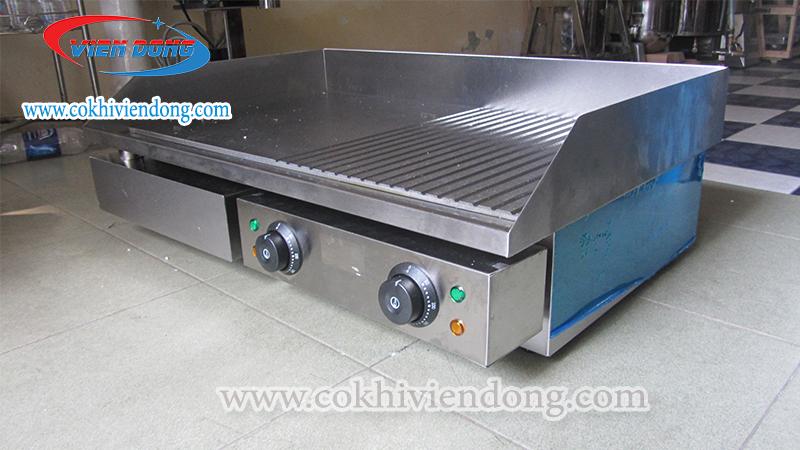 cấu tạo bếp chiên phẳng