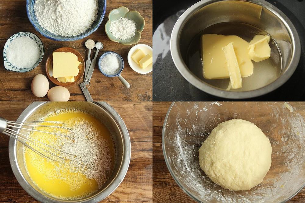 cách làm bánh mì mặn chà bông00