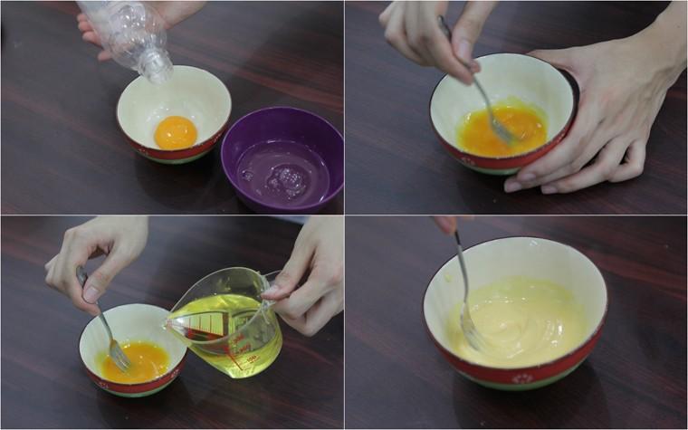 cách làm bánh mì mặn chà bông8