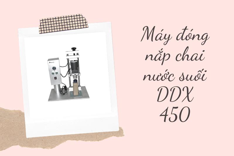 máy đóng nắp chai nước DDX 450