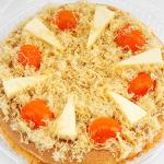 Cách làm bánh bông lan trứng muối sinh nhật