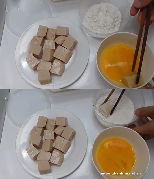 Cách làm bánh sữa tươi chiên giòn ngon hấp dẫn