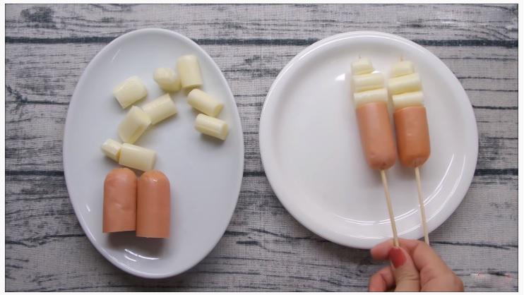 Cách làm bánh hotdog phô mai