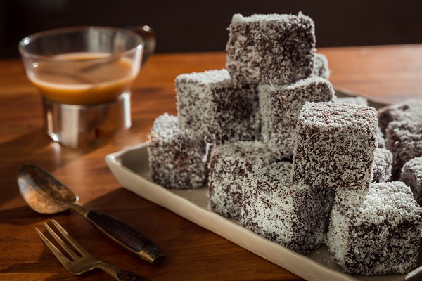 Bánh ngọt chocolate dừa