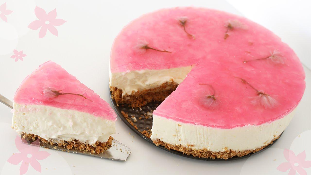 Bánh cheesecake anh đào