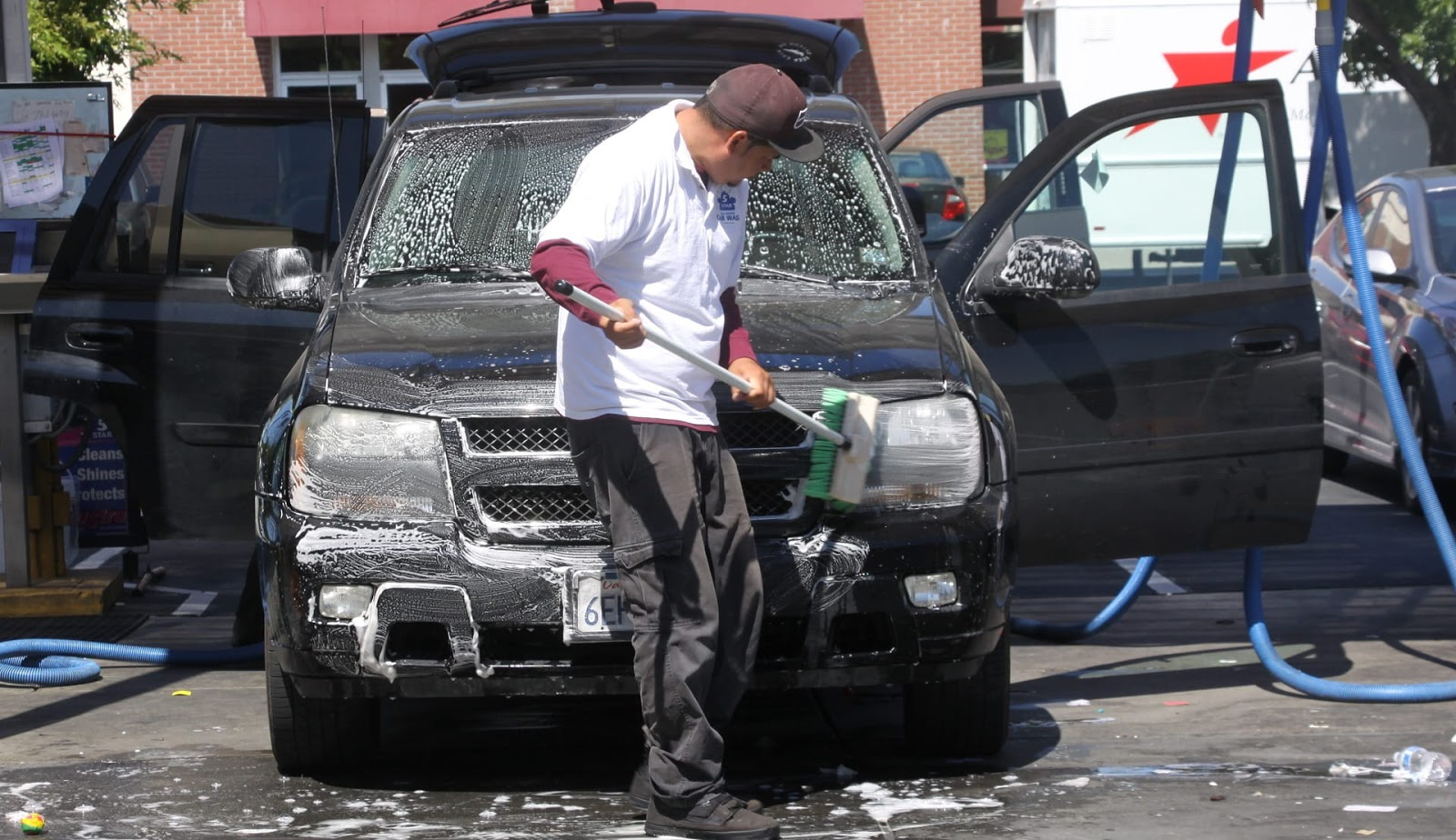 kinh doanh dịch vụ rửa xe