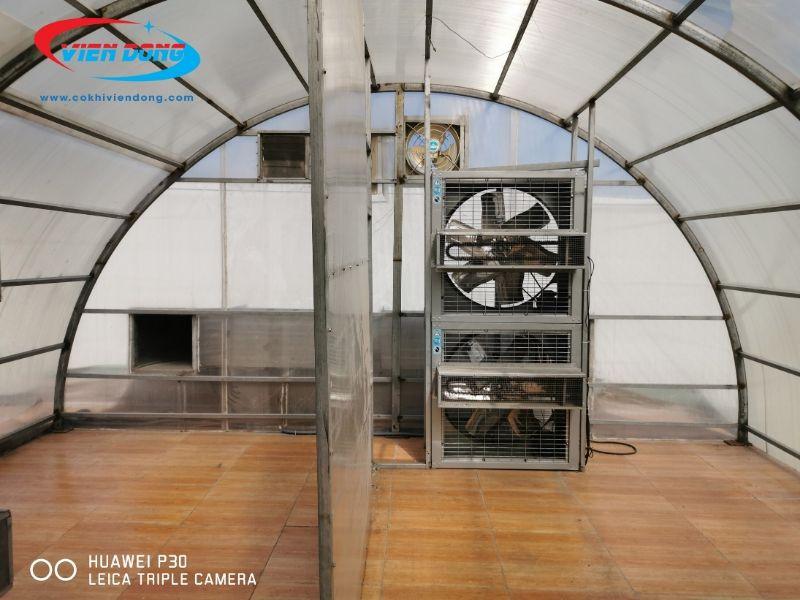 Đặc điểm cấu tạo máy sấy thuốc bắc năng lượng mặt trời Viễn Đông