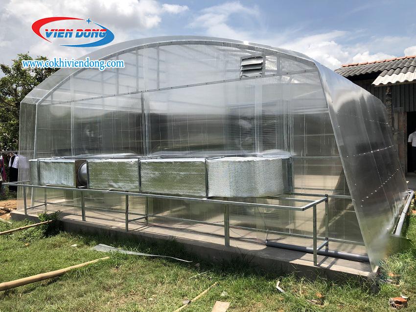 Máy sấy thuốc bắc năng lượng mặt trời