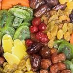 hoa quả sấy khô