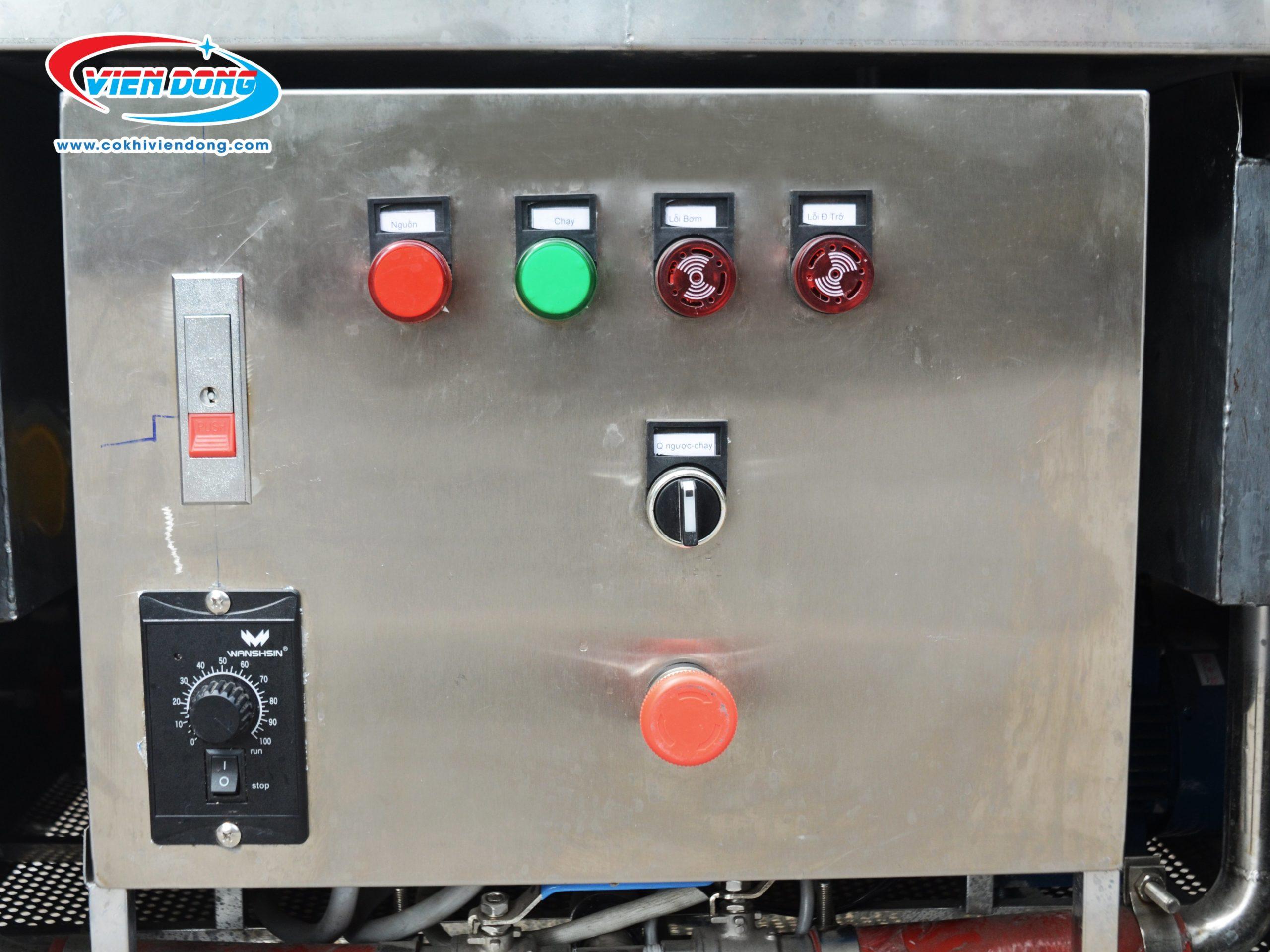 Bảng điều khiển máy rửa bát