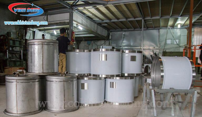 Sản xuất nồi nấu phở tiết kiệm điện