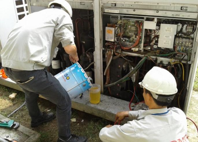 quy trình bảo dưỡng máy nén khí trục vít