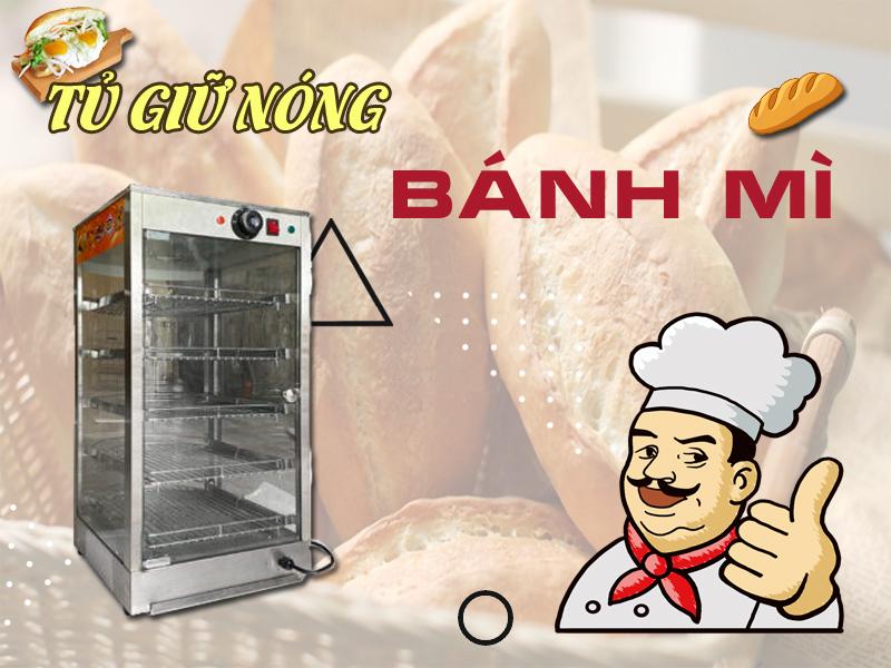 Tủ giữ nóng bánh mì